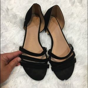 A new day black sandals 8.5